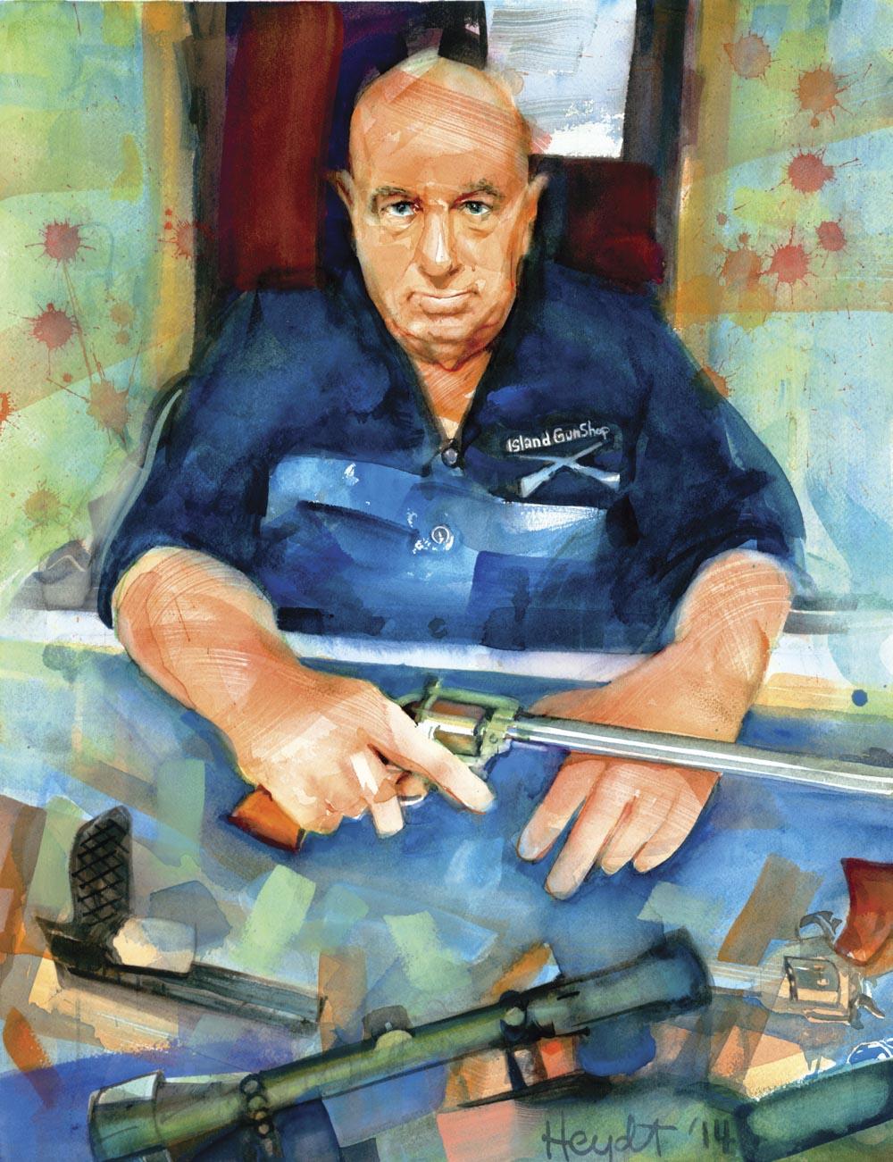 Dominic J. Calarco, President, Island Gun Shop Inc., Portsmouth