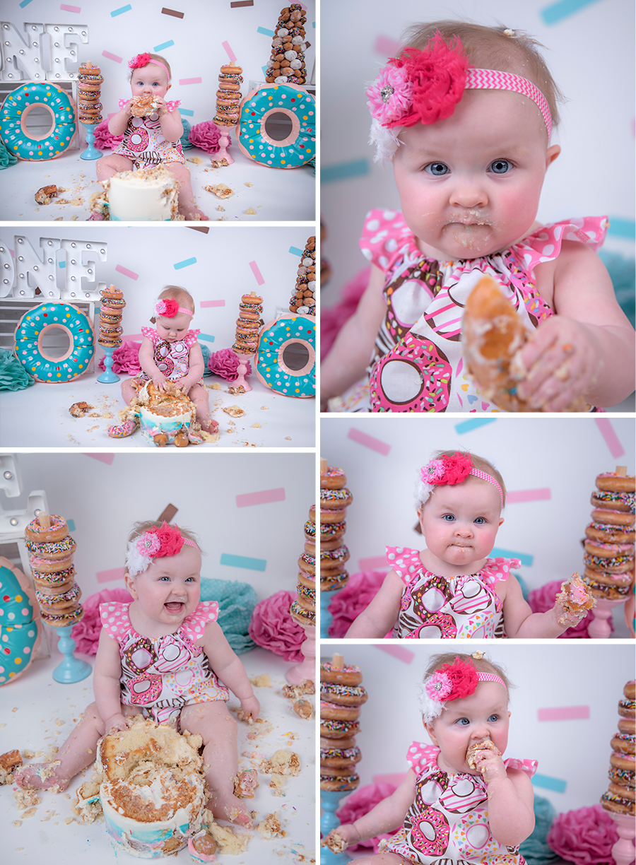 8.jpgbaby girl pink teal and brown donut cake smash session with sprinkles_4