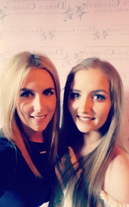 Myself and my sister Emma!