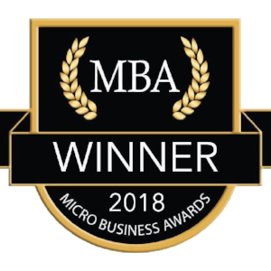 We are absolutely delighted to have been selected as the winner of a Micro Business Award under the E Commerce category.