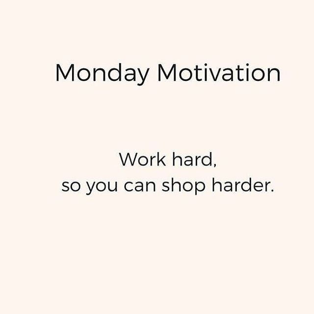Yes!! 😂🛍 . . #dollscloset #mondaymotivation #monday #workhard #shopharder #inspo #motivationalquotes #onlineshopping #onlineboutique #instastyle #instashop #galway #ireland