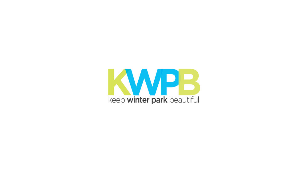 Re-brand for Keep Winter Park Beautiful.