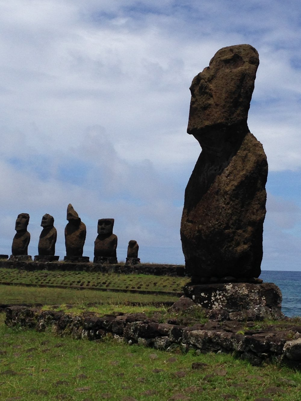 Easter Island! What a THRILL to walk among these guys!
