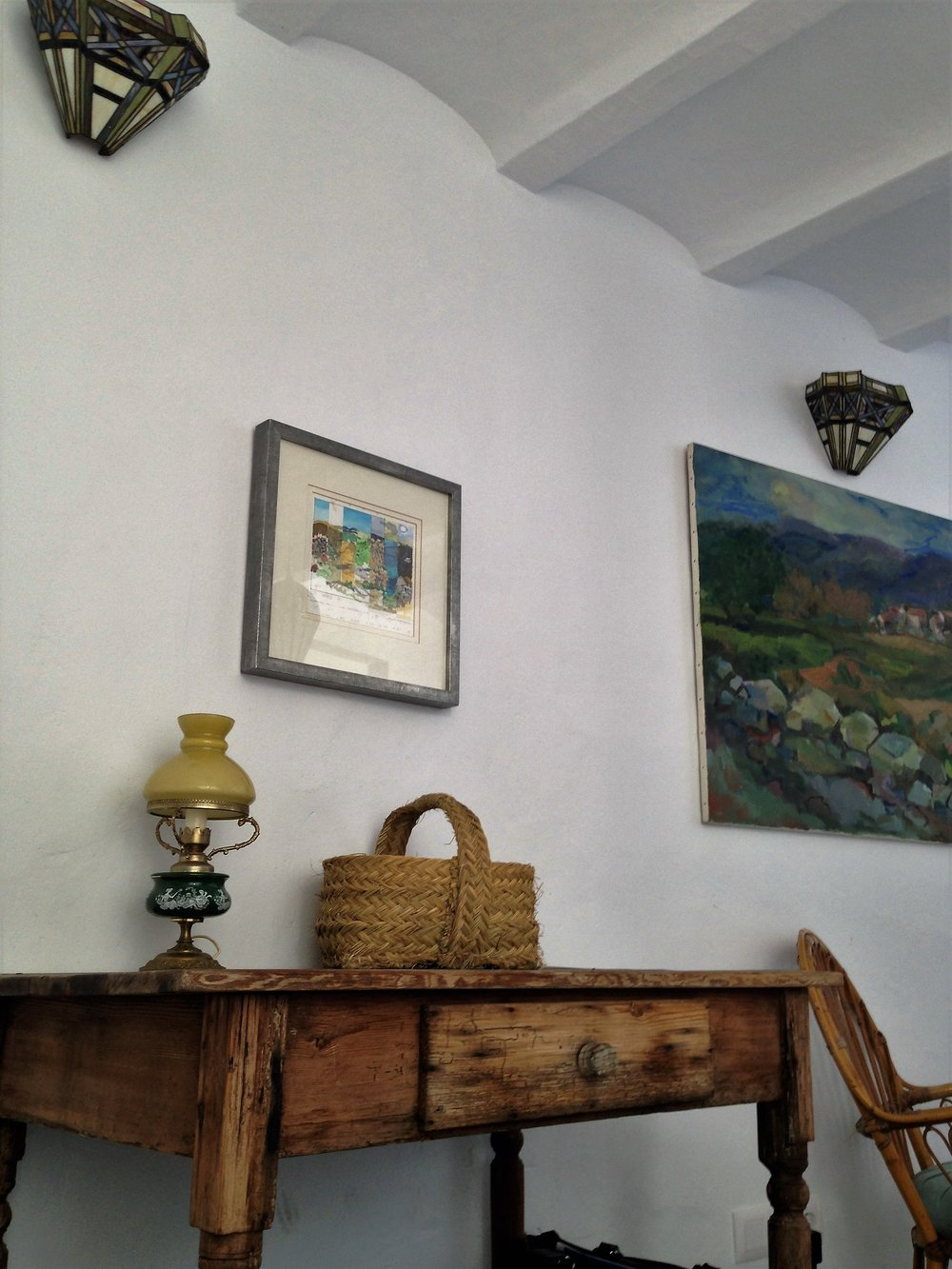 We had a charming apartment in the beautiful white village of Fragiliana, Spain.