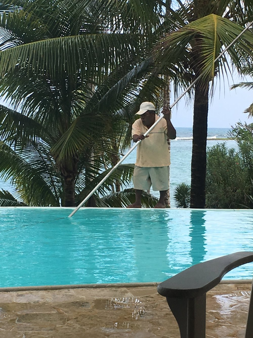 We no longer clean our pool. He does a much better job!