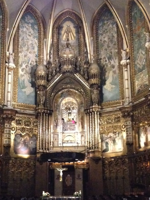 The Black Madonna Montserrat