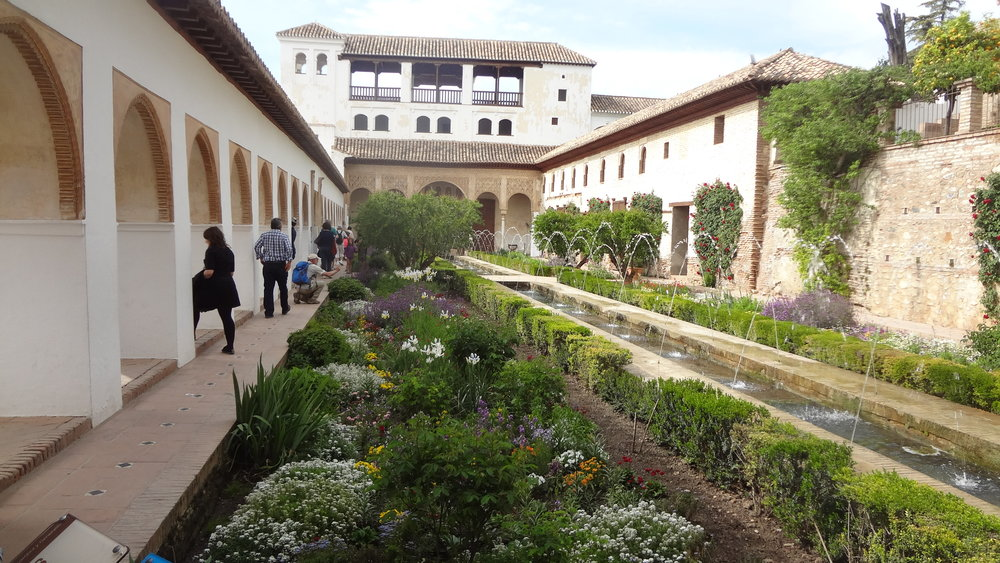 The Palacio de Generalife in Granada