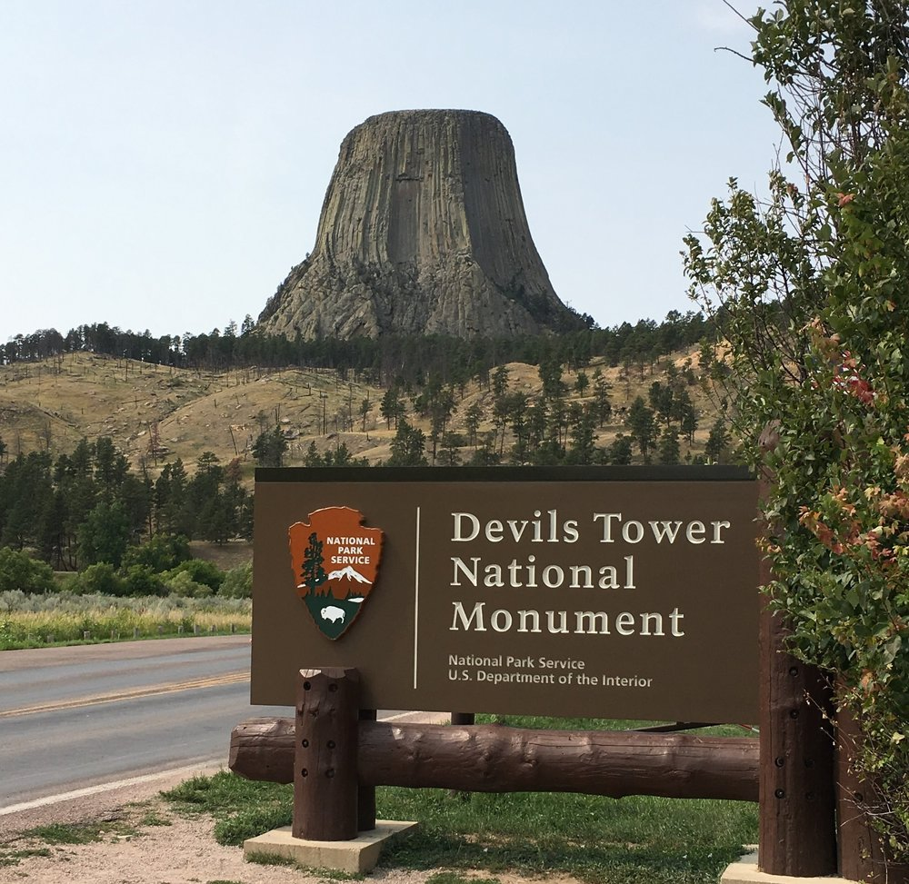 Who knows what 40-year-old movie the Devils Tower plays a key role in? While I can't honestly say that a movie from 1977 inspired our trip there last summer, it was fun to remember it while we were there! No, we didn't sculpt it in our mashed potatoes!