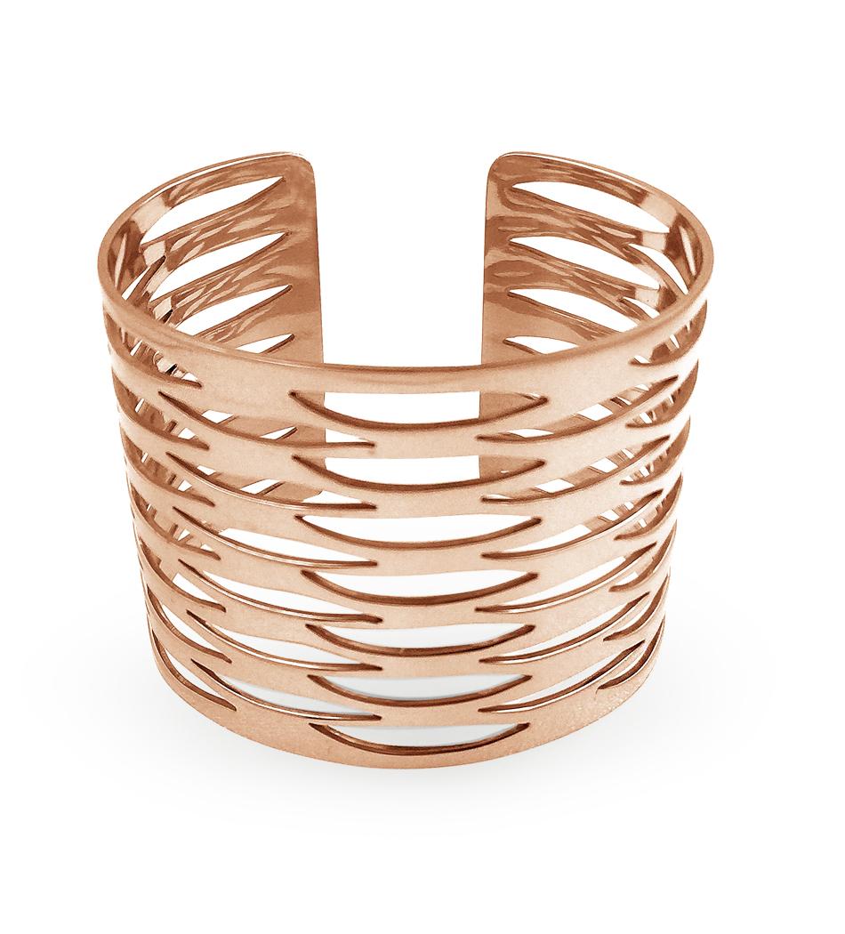 $215 - Rose Gold Geometric Cuff