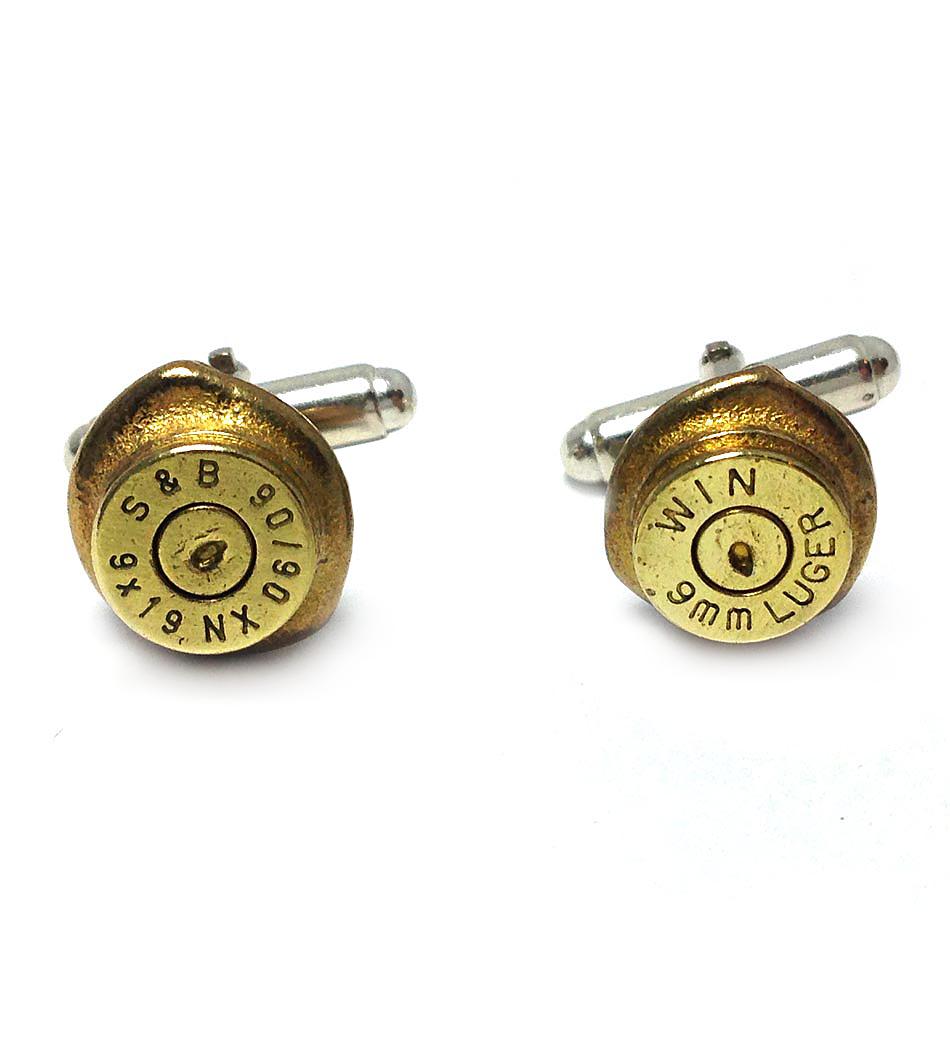 $60 - Bullet Casing Cufflinks