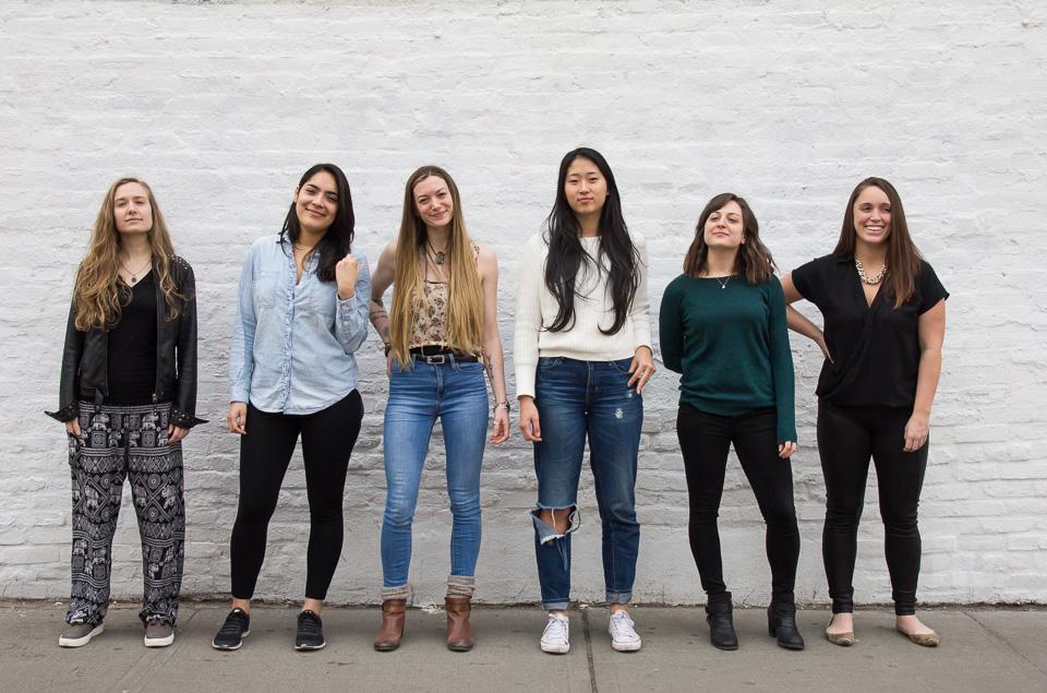 L to R: Victoria, Steph, Kelly, Nina, Eriana & Britt