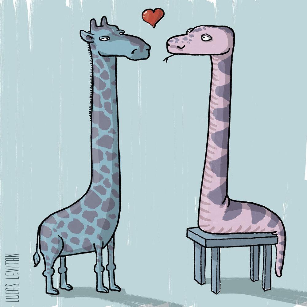 giraffe and snake + lucaslevitan.jpg