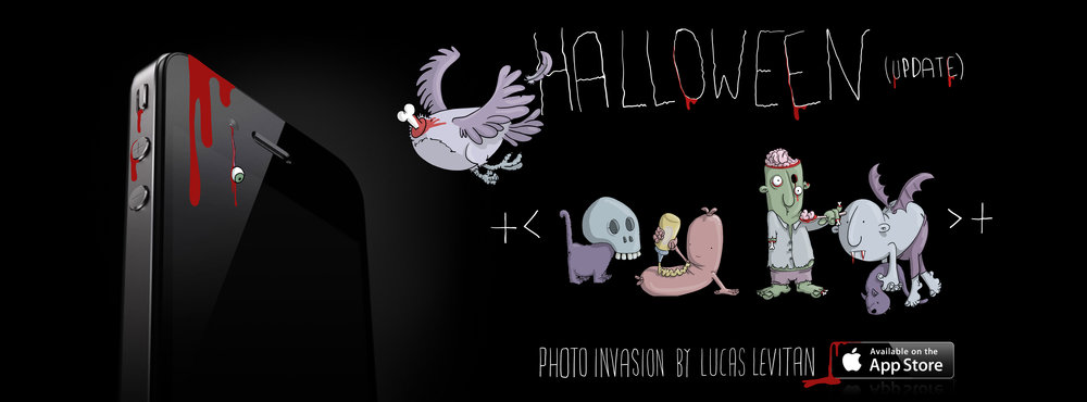 photo invasion update halloween lucas levitan