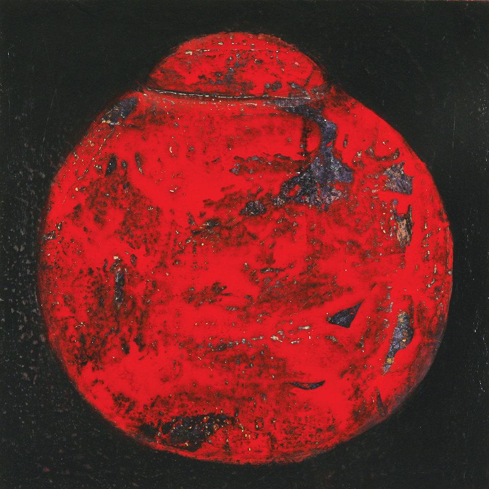Red Memory Jar
