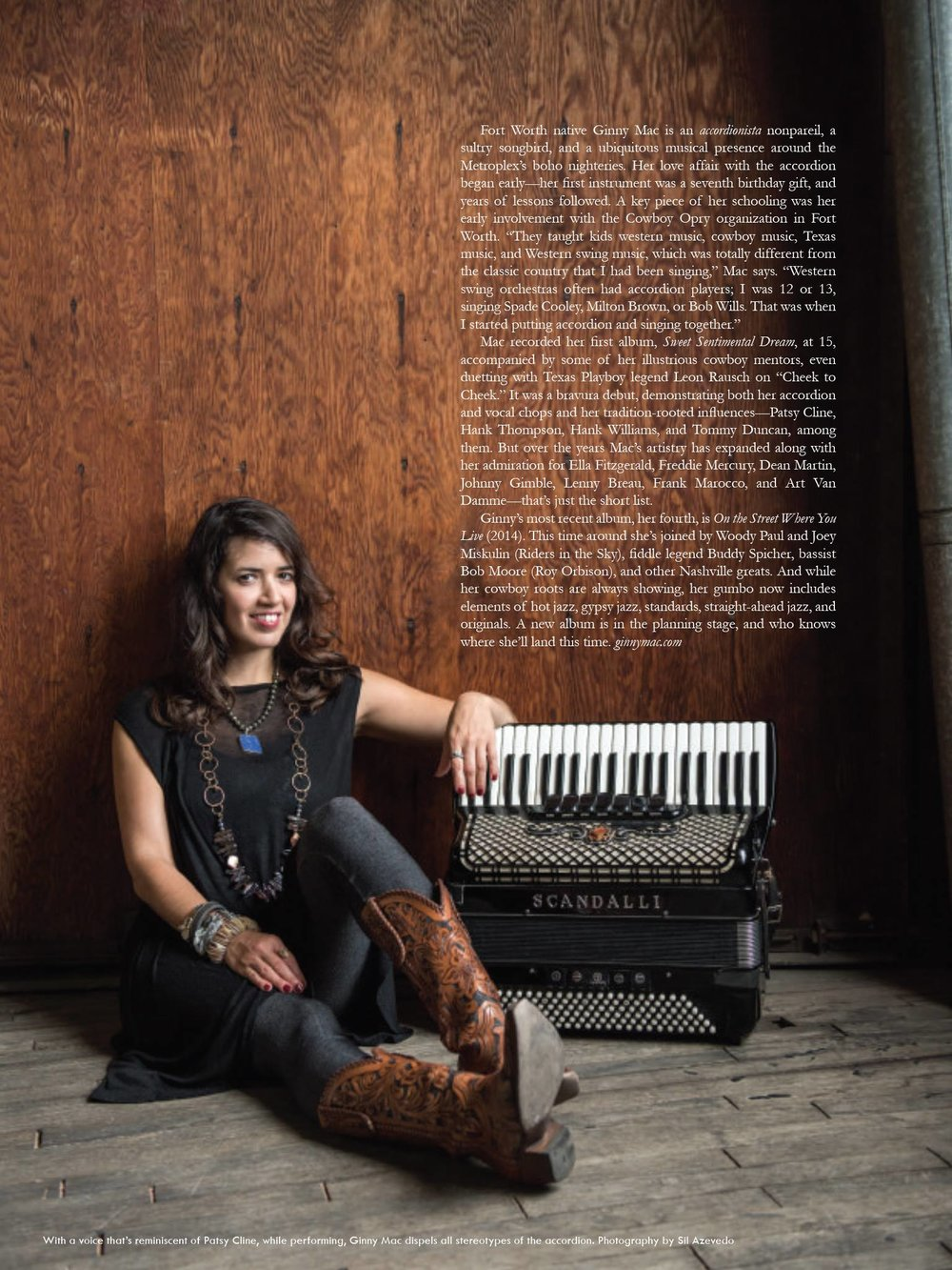 Ginny Mac - musician