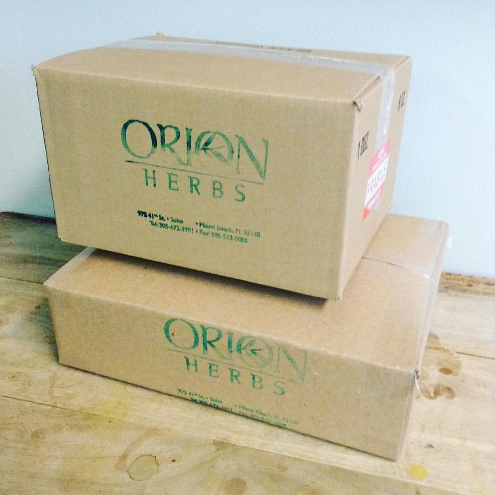 Orion Herbs Wholesale