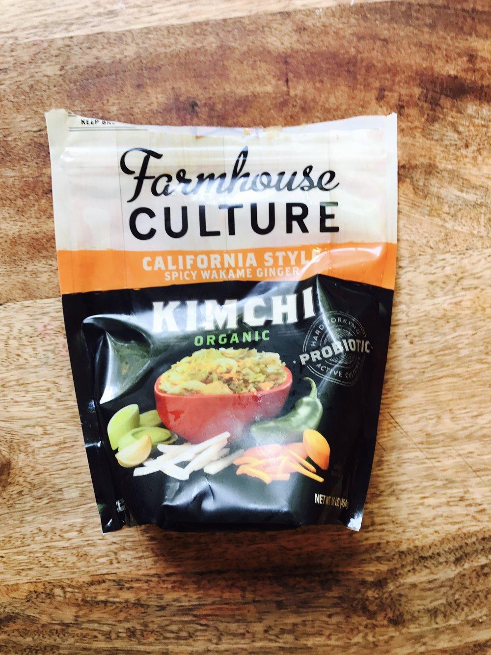 My choice of Kimchee