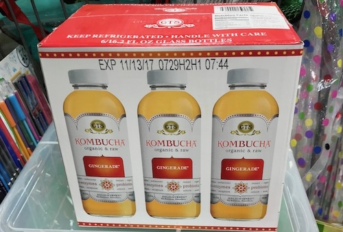 Case of Kombucha - Your gonna get a lot of high fives and thanks when you show up with this. The hippies and health conscious love nothing more then a cold kombucha especially when they have extra stashed in the fridge. The catch is, your gonna have to go to the store for this one. No online orders will do. Pro tip: make sure you get the right flavor. (picture credit: Mom)