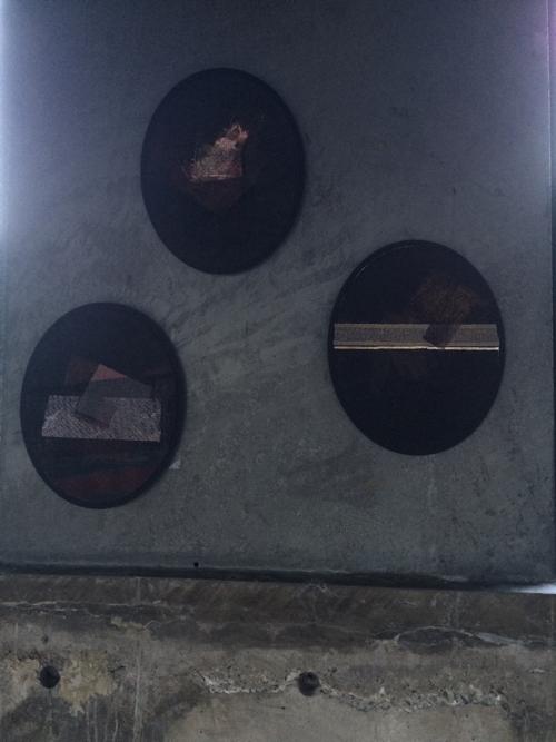 "Michelle Knoblauch, série des ""Ovales"", TOM Gallery, Tokyo, 2017"