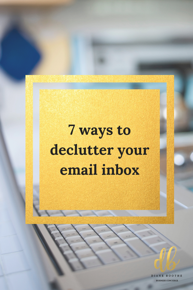 7 ways to declutter your email inbox