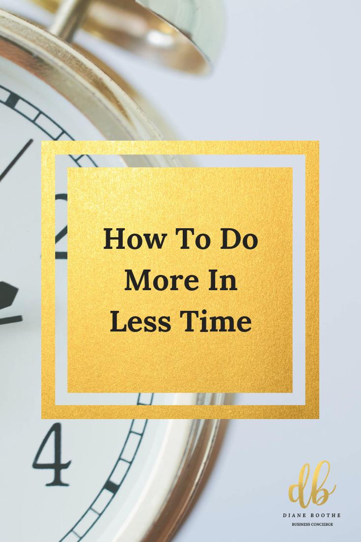 Time Saving Activities