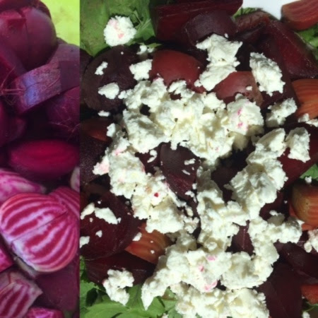 beet-chèvre-salad