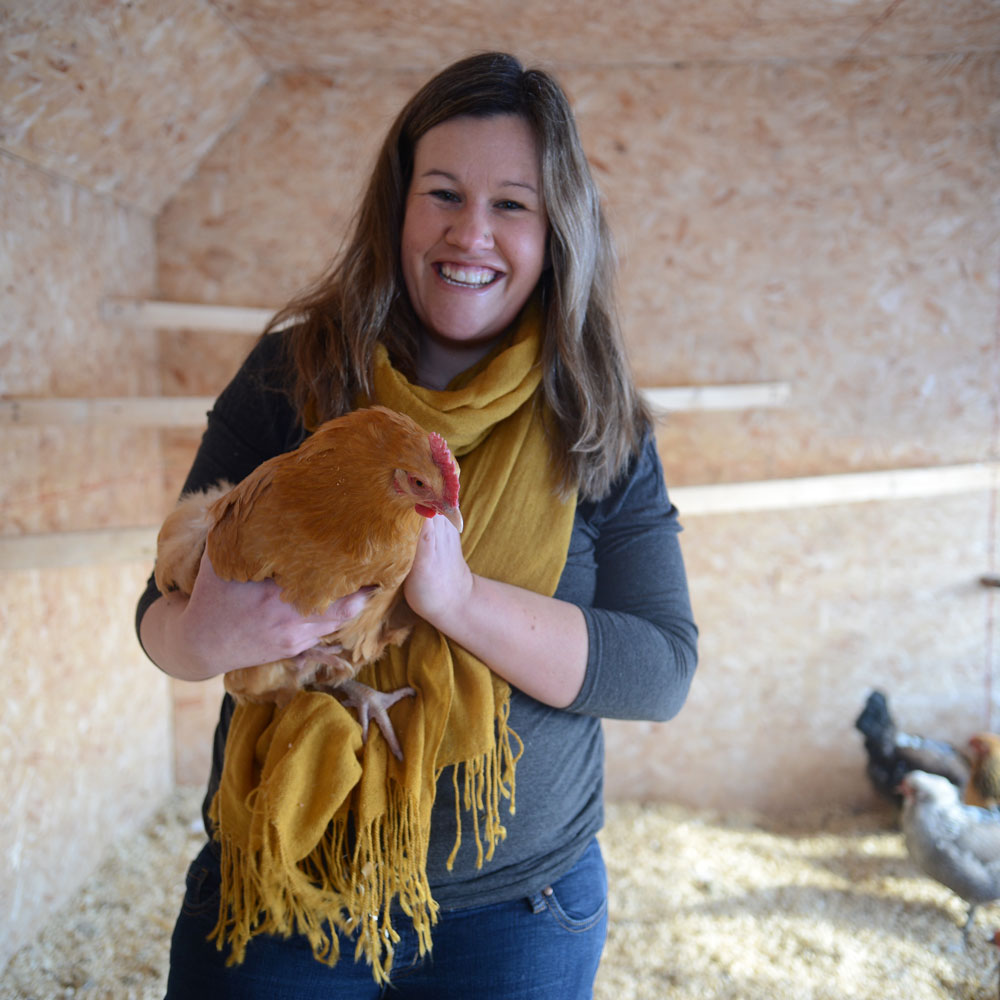 Jenny Robinson - As one who loves quality time with people, adventure, creating welcoming spaces of gathering, rest and beauty, growing healthy and delicious food, and caring for the earth, Jenny finds this farm to be such a place of joy and learning.Jenny grew up in Calgary with fond childhood memories of starting seeds under fluorescent lights in the basement, a greenhouse teeming with tomatoes and pushing her toy truck around picking up worms as the family worked the garden in their backyard. She's always enjoyed growing green things on balconies and in community gardens, and now, on the farm, loves the growing seasons spent out on the land. After marrying Sean, the two of them asked God for a common dream that they could share together, and they are now farming it, along with Jenny's parents, Barb and Floyd.
