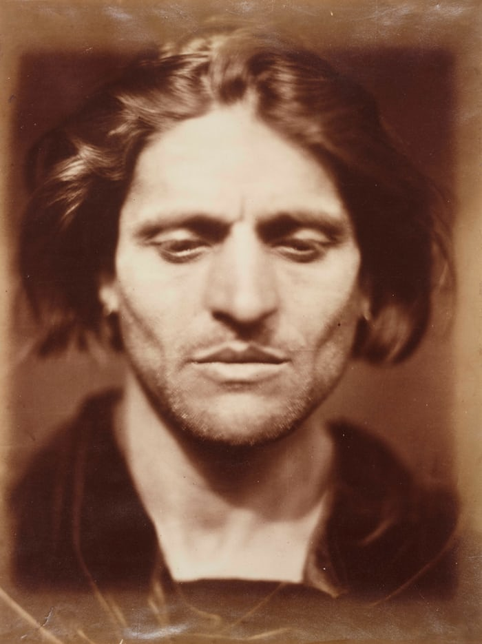 Iago – study from an Italian, 1867, Julia Margaret Cameron, Science Museum Group collection