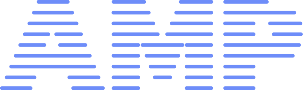 Amp Stripe Bright Blue