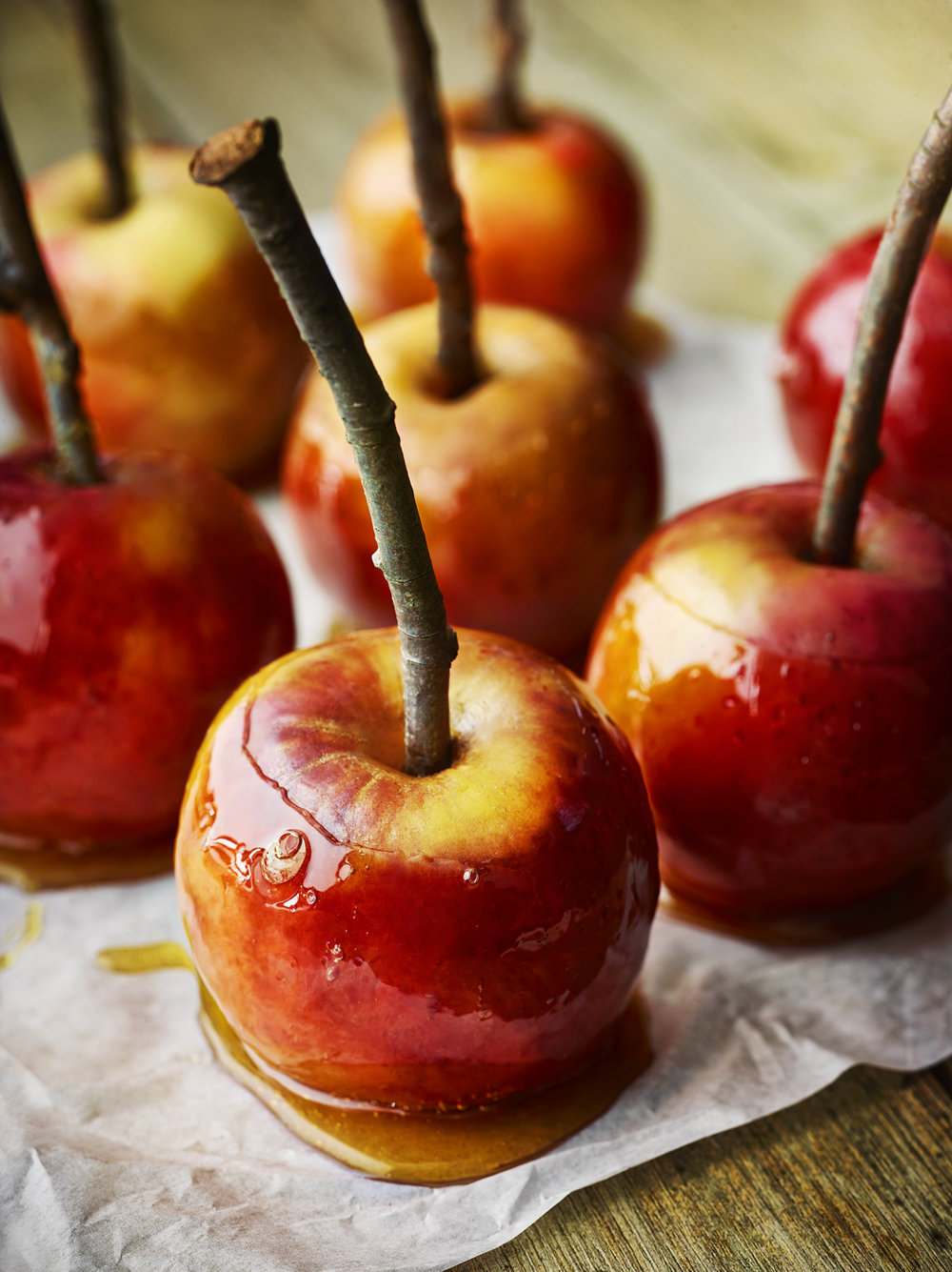 TOFFEE APPLES -