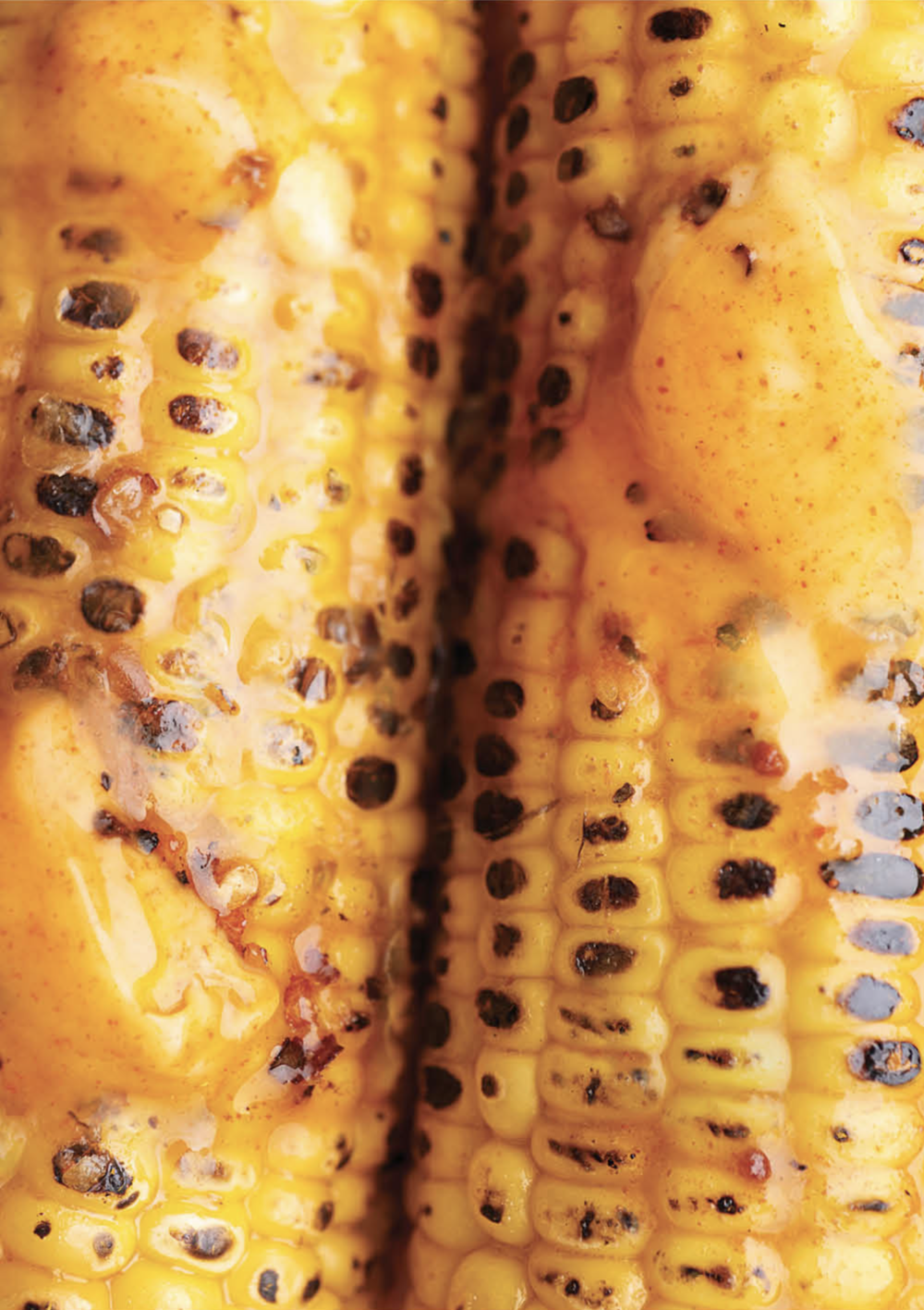 BURNT CORN WITH CHILLI BUTTER -