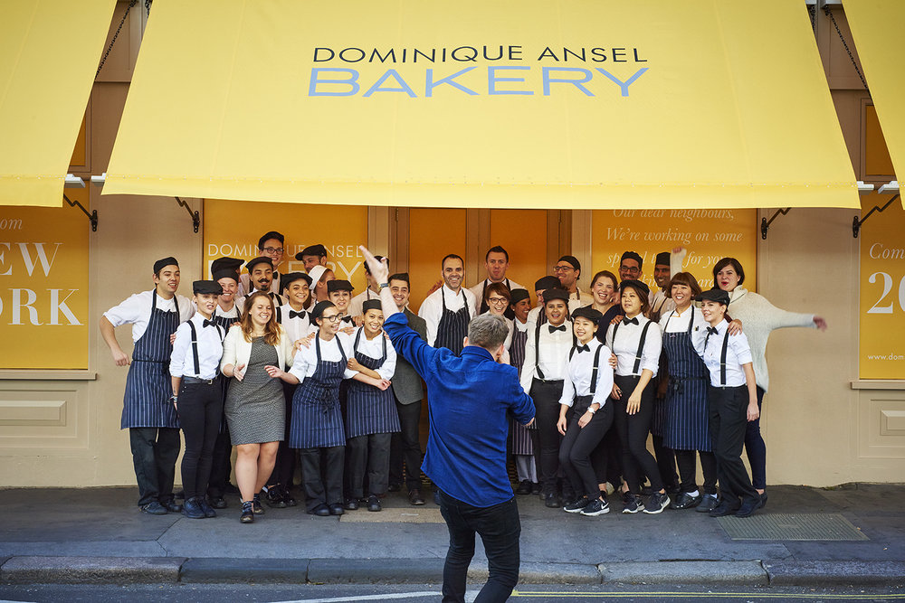 DOMINIQUEANSEL  - SHOOTING THE LONDON BAKERY FOR WIRED