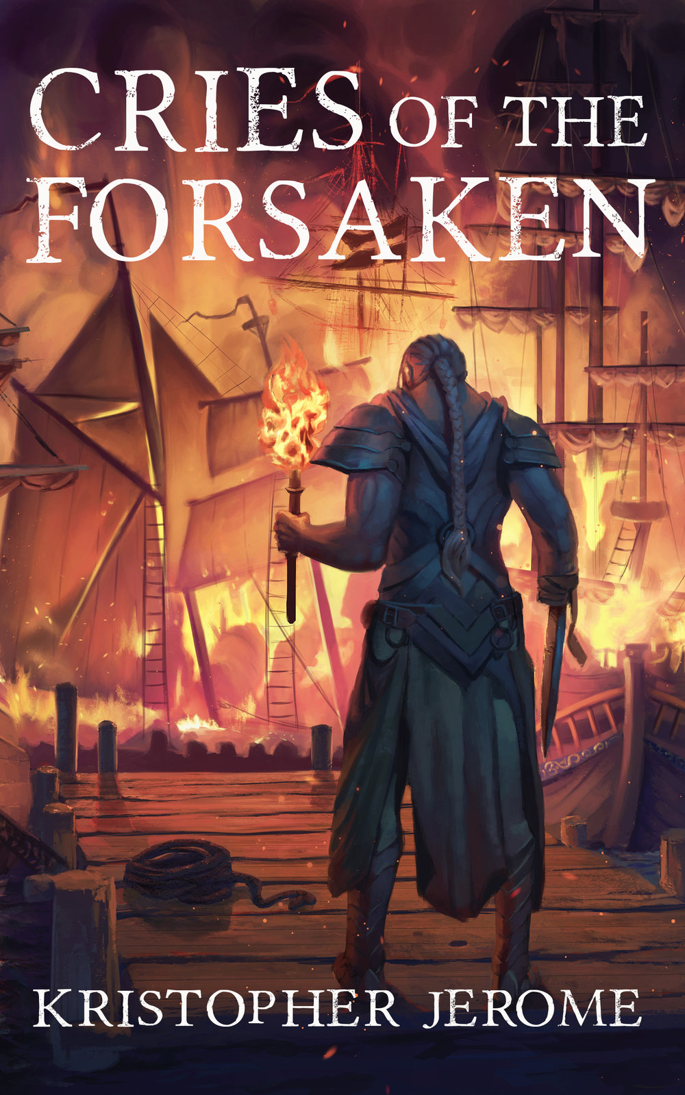 CRIES OF THE FORSAKEN by Kristopher Jerome