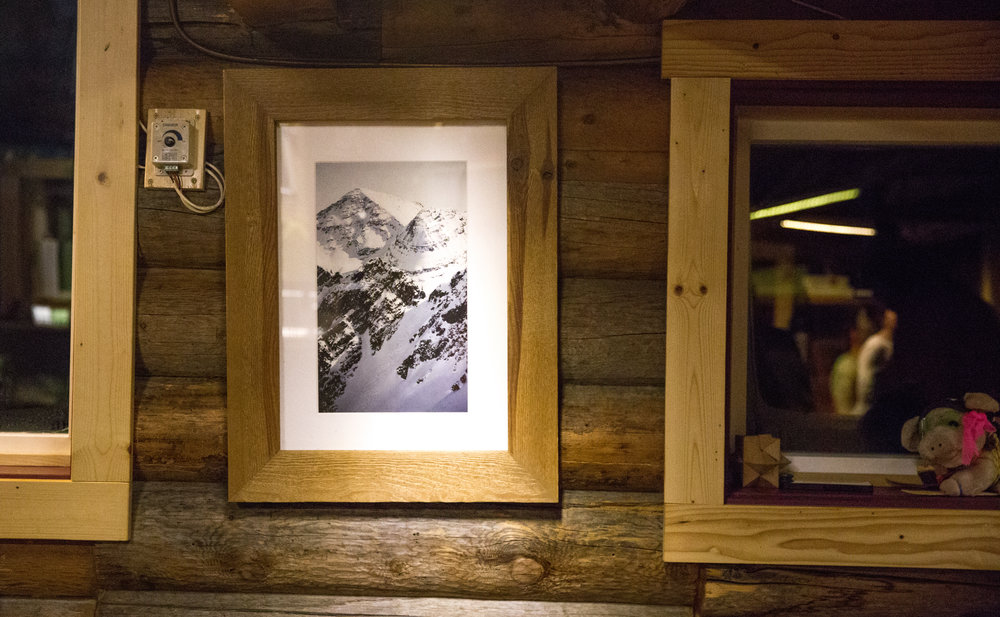Captivating Photo's hung on the Wall