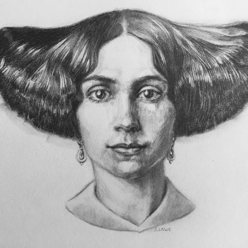 Portrait of a Woman c. 1857