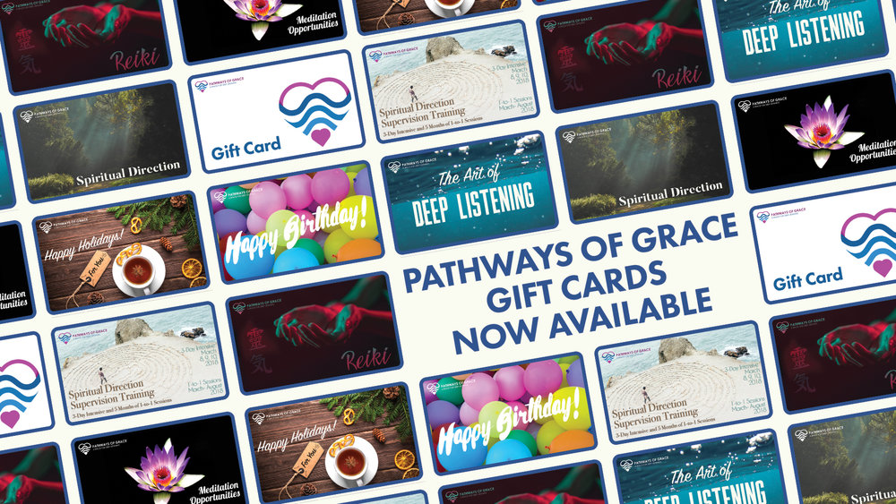 Pathways of Grace Gift Cards Now Available!