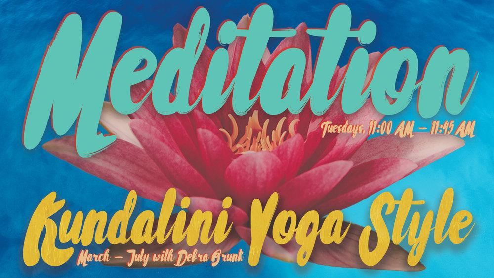 Meditation - Kundalini Yoga Style with Debra Brunk at Pathways of Grace in Phoenix, Arizona