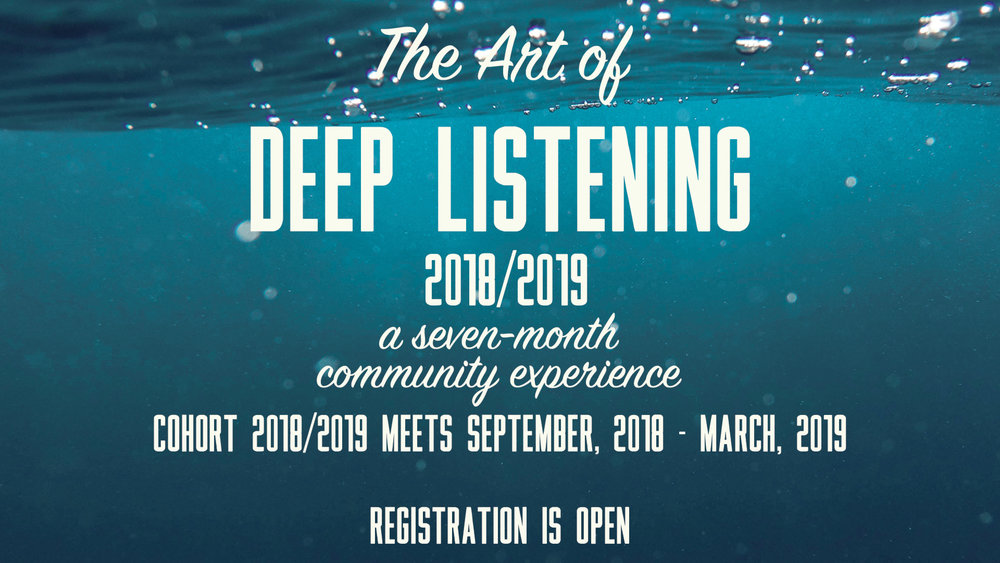 The Art of Deep Listening with Amanda Petersen and Michelle Jereb at pathways of Grace Spiritual Direction in Phoenix, Arizona