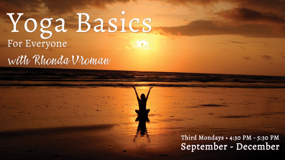 Yoga Basics with Rhonda Vroman at Pathways of Grace Spiritual Direction in Phoenix, Arizona