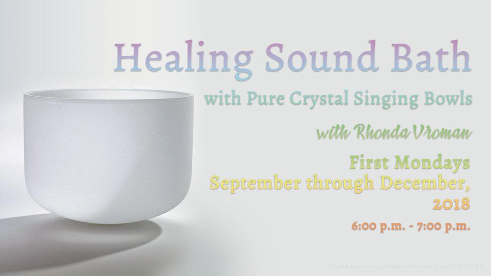Healing Sound Bath with Rhonda Vroman at Pathways of Grace Spiritual Direction in Phoenix, Arizona