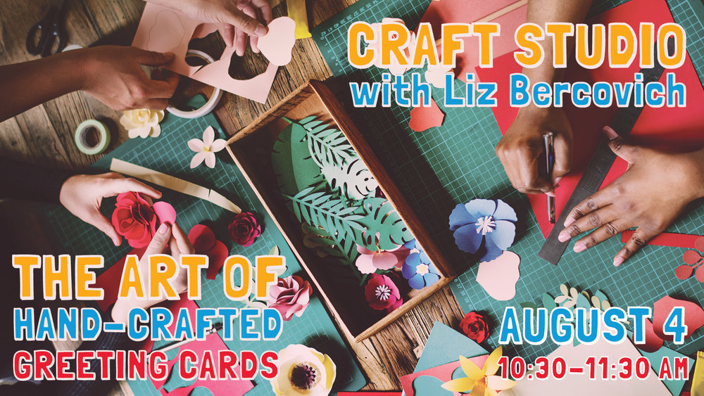The Art of Hand-Crafted Greeting Cards with Liz Bercovich at Pathways of Grace Spiritual Direction in Phoenix, Arizona.