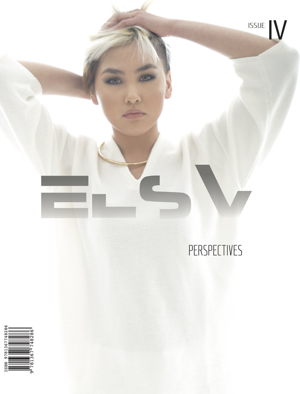 Issue iv - Perspectives - cover model chantal jo