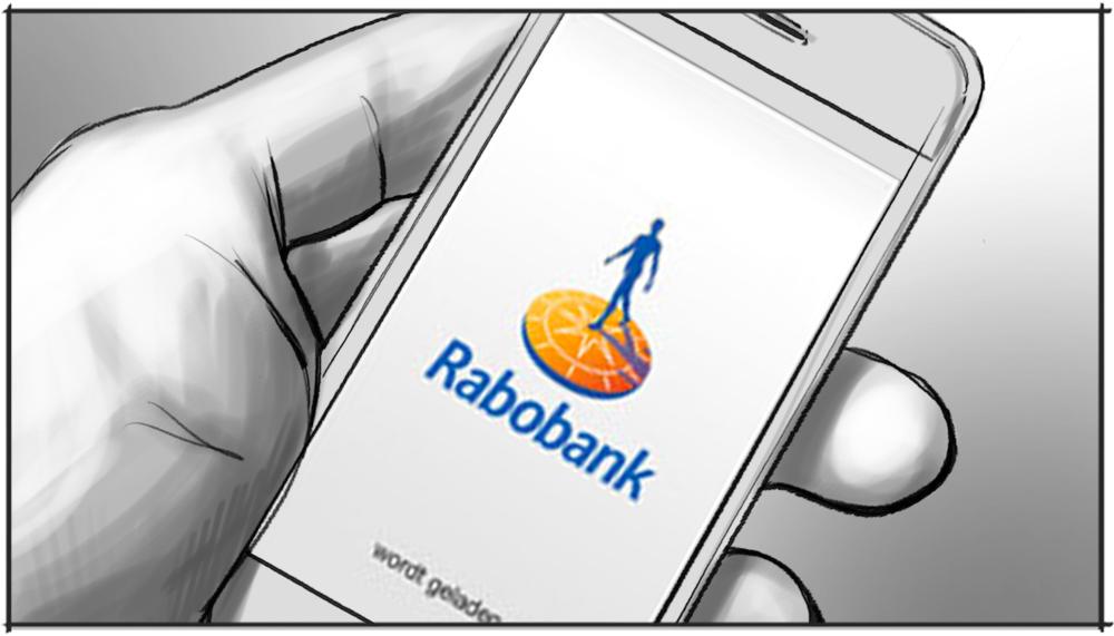 Storyboard voorstellen medewerker Rabobank tekening 7