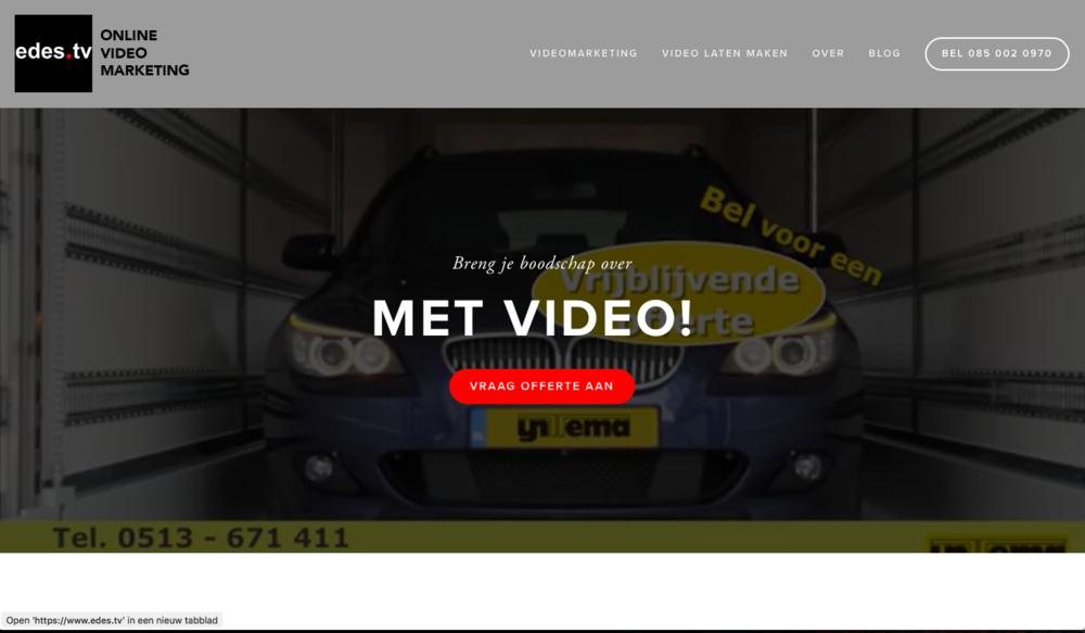 Website edes.tv