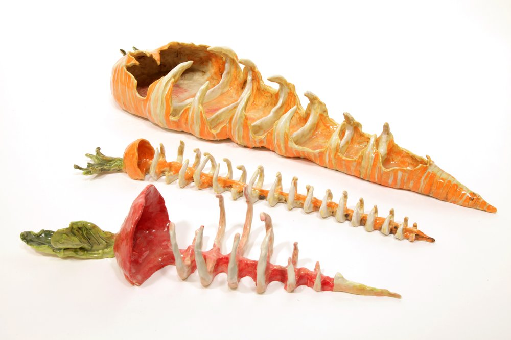 Copy of Carrot Carcass, Carrot Skeleton, Turnip Skeleton