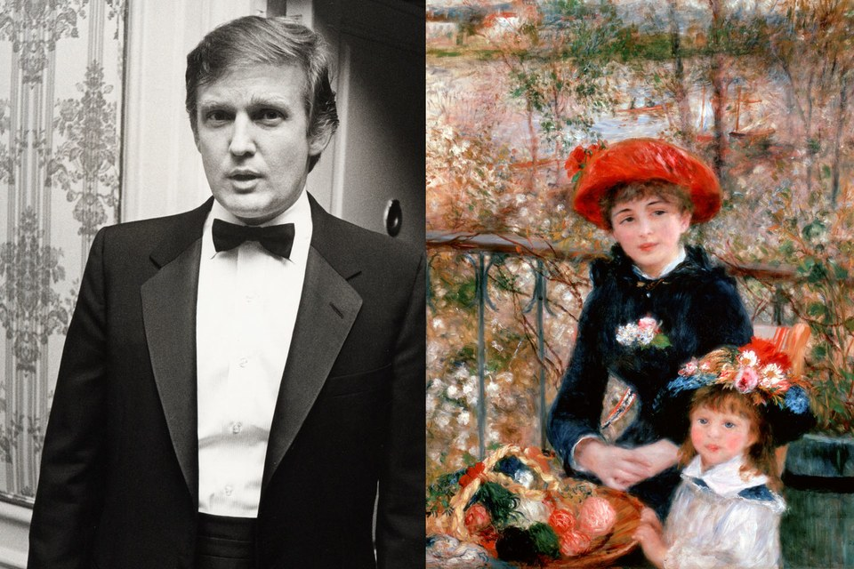 Left, by Ron Galella/WireImage; Right, from Heritage Images, both via Vanity Fair