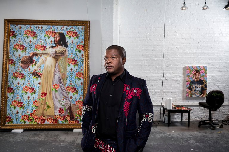 Photo of Kehinde Wiley by Chad Batka for the New York Times.