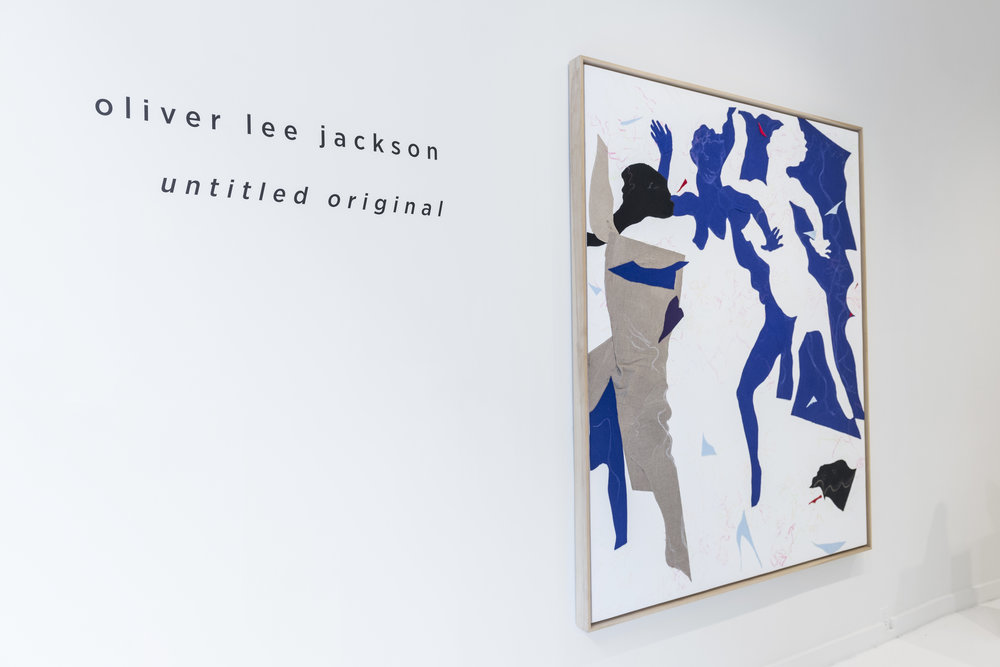 Oliver Lee Jackson,  Untitled Original  - Installation View, 2018