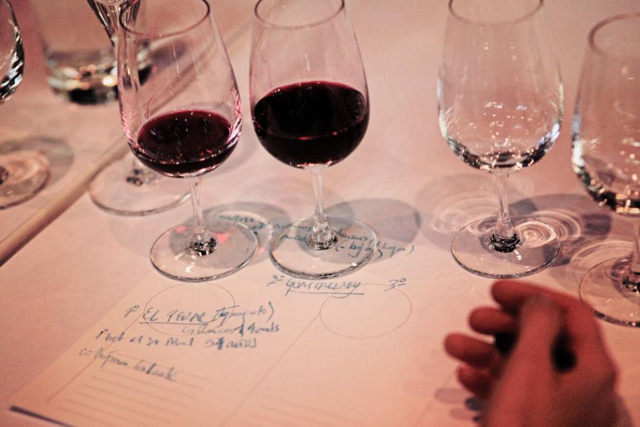 Taller de vinos por Roberto Romano