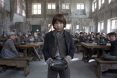 Oliver twist wide shot